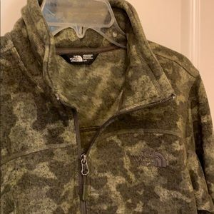 North Face 3/4 Zip Sweater